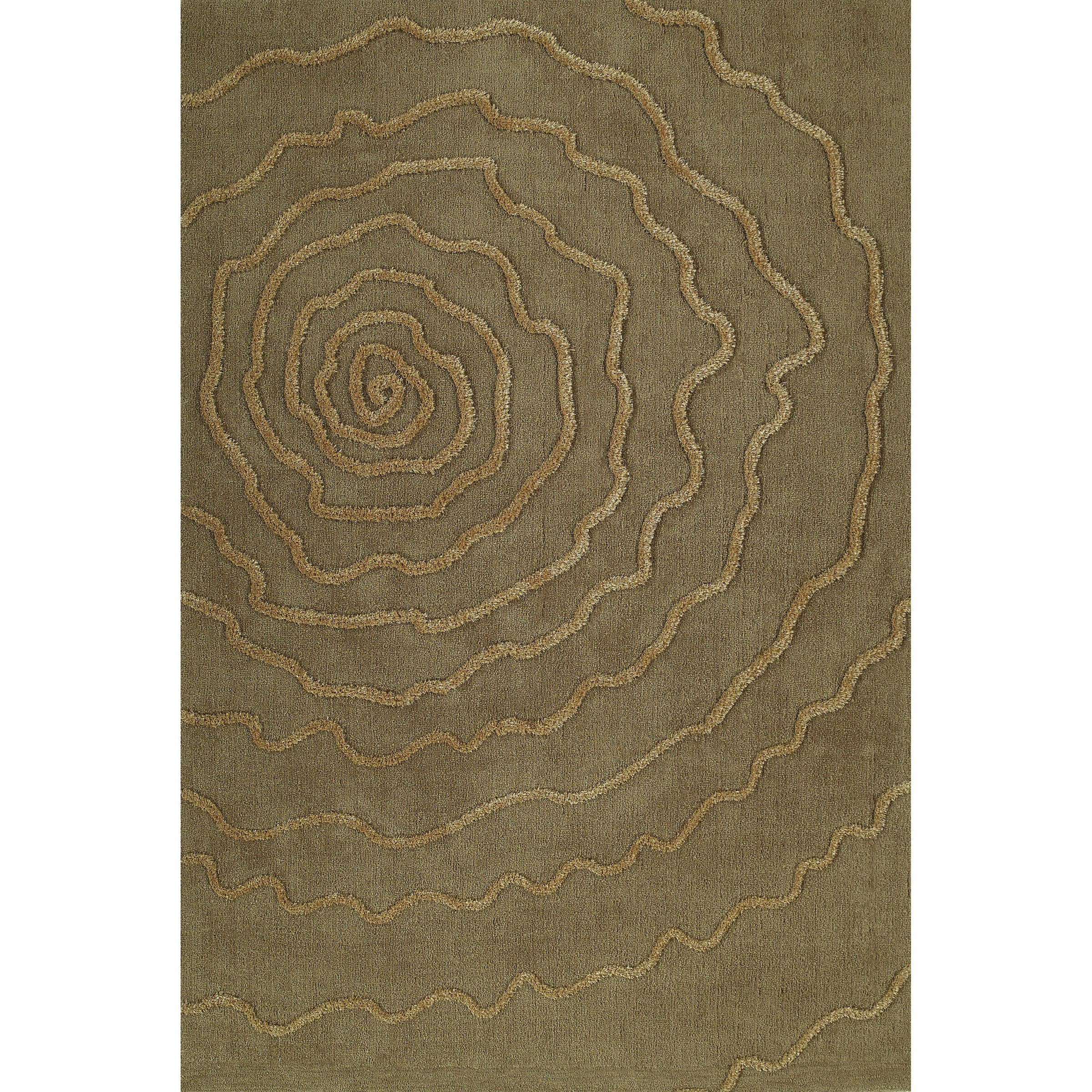 Sand 9'X13' Area Rug