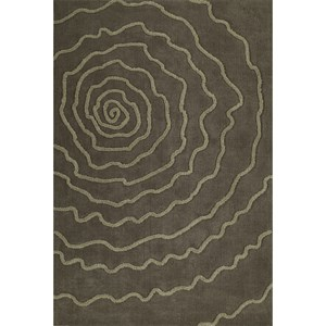"Taupe 5'X7'6"" Area Rug"