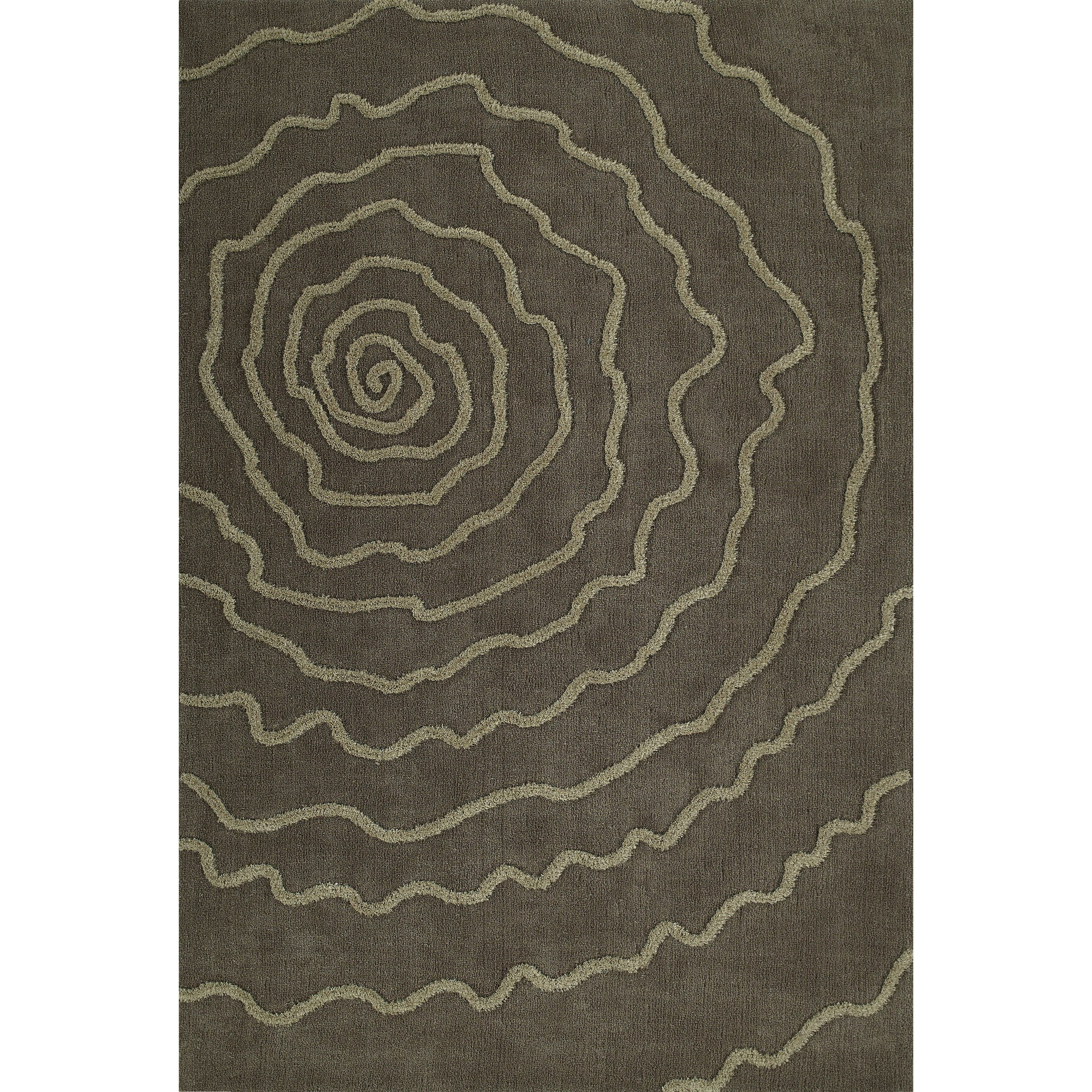 Taupe 8'X10' Area Rug