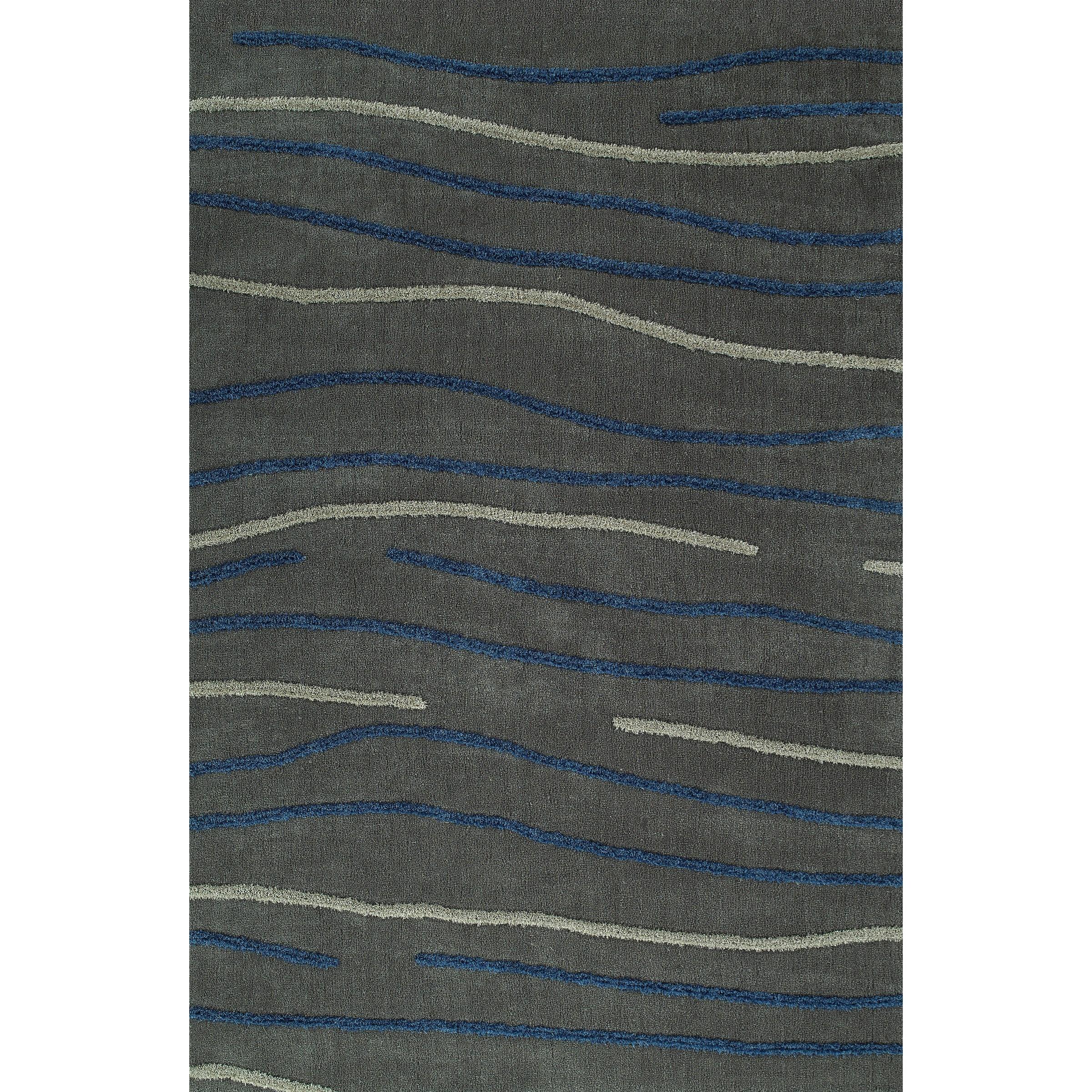 Grey 9'X13' Area Rug