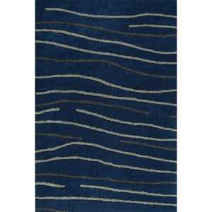 "Dalyn Dakota Navy 5'X7'6"" Area Rug"