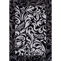 "Dalyn Finesse Black 3'3""X5'1"" Rug - Item Number: FN128BK3X5"