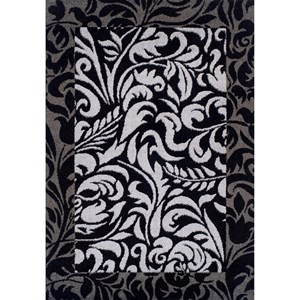 "Dalyn Finesse Black 4'11""X7' Rug"