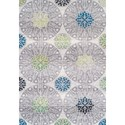 "Dalyn Finesse Ivory 3'3""X5'1"" Rug - Item Number: FN161IV3X5"