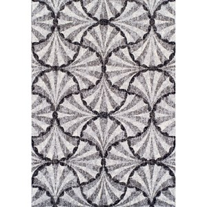 "Dalyn Finesse Pewter 4'11""X7' Rug"