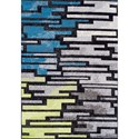 "Dalyn Finesse Multi 3'3""X5'1"" Rug - Item Number: FN8324MU3X5"