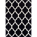 "Dalyn Finesse Black 4'11""X7' Rug - Item Number: FN960BK5X7"