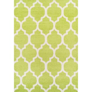 "Dalyn Finesse Lime 4'11""X7' Rug"