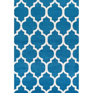 "Dalyn Finesse Teal 4'11""X7' Rug"