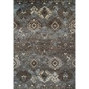 "Dalyn Gala Steel 3'3""X5'1"" Rug - Item Number: GA10ST3X5"