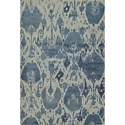 "Dalyn Geneva Denim 5'3""X7'7"" Rug - Item Number: GV1336DE5X8"
