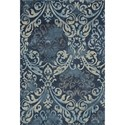 "Dalyn Geneva Navy 5'3""X7'7"" Rug - Item Number: GV213NA5X8"