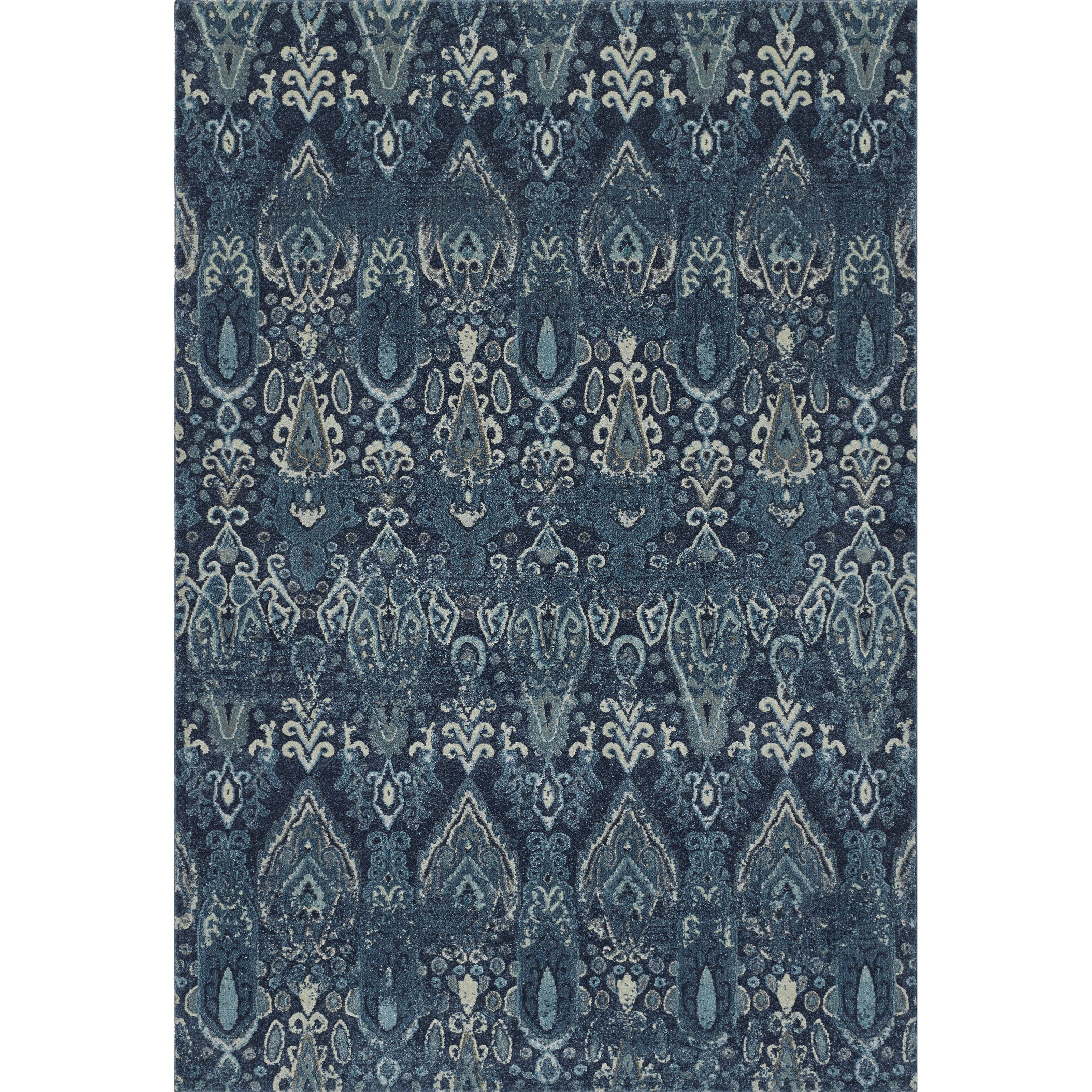 "Dalyn Geneva Navy 7'10""X10'7"" Rug - Item Number: GV315NA8X11"