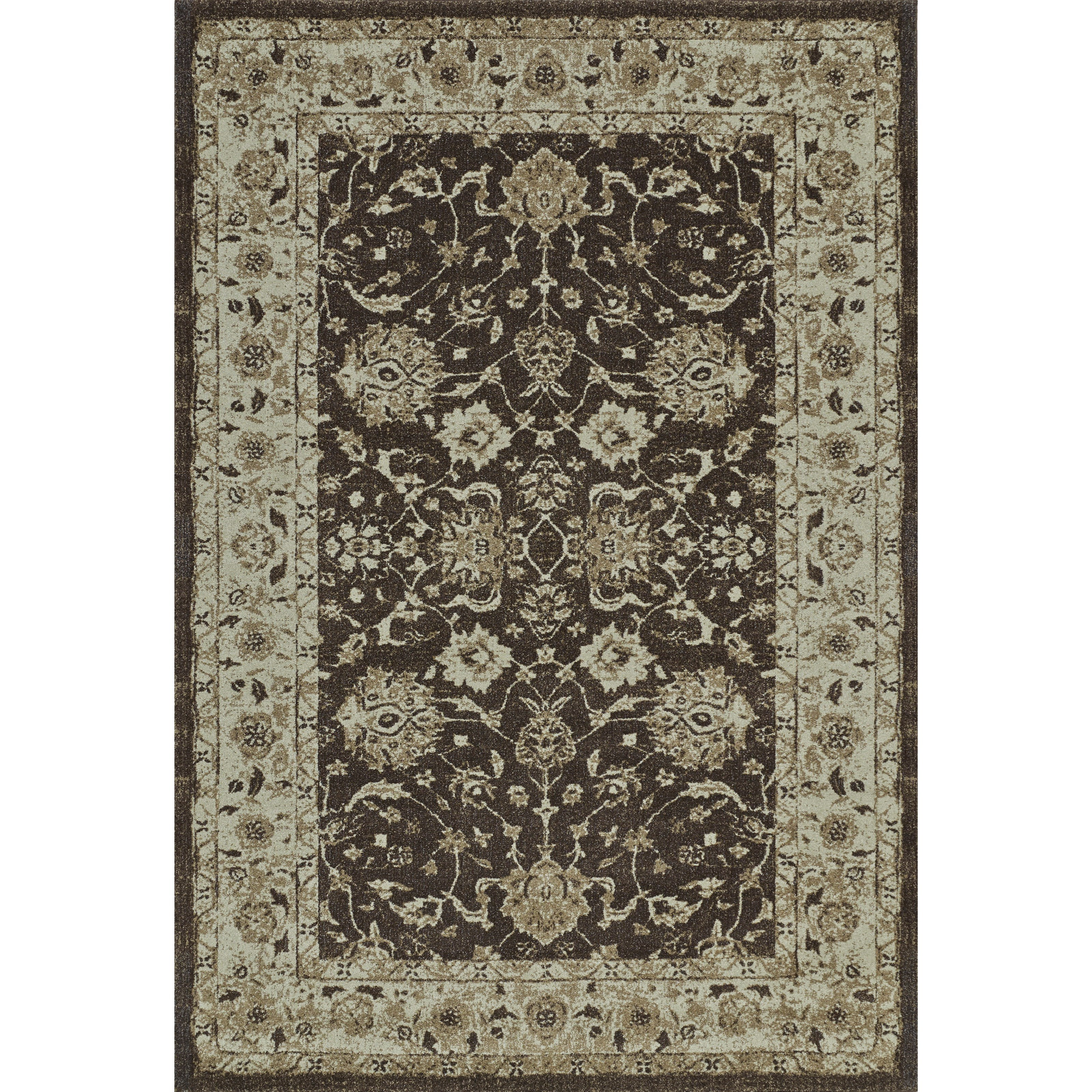 "Dalyn Geneva Chocolate 3'3""X5'1"" Rug - Item Number: GV4448CH3X5"