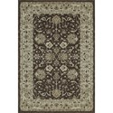 "Dalyn Geneva Chocolate 5'3""X7'7"" Rug - Item Number: GV4448CH5X8"