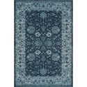 "Dalyn Geneva Teal 3'3""X5'1"" Rug - Item Number: GV4448TE3X5"