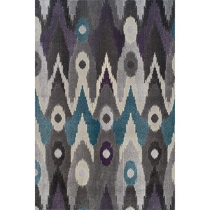 "Dalyn Grand Tour Graphite 5'3""X7'7"" Rug"