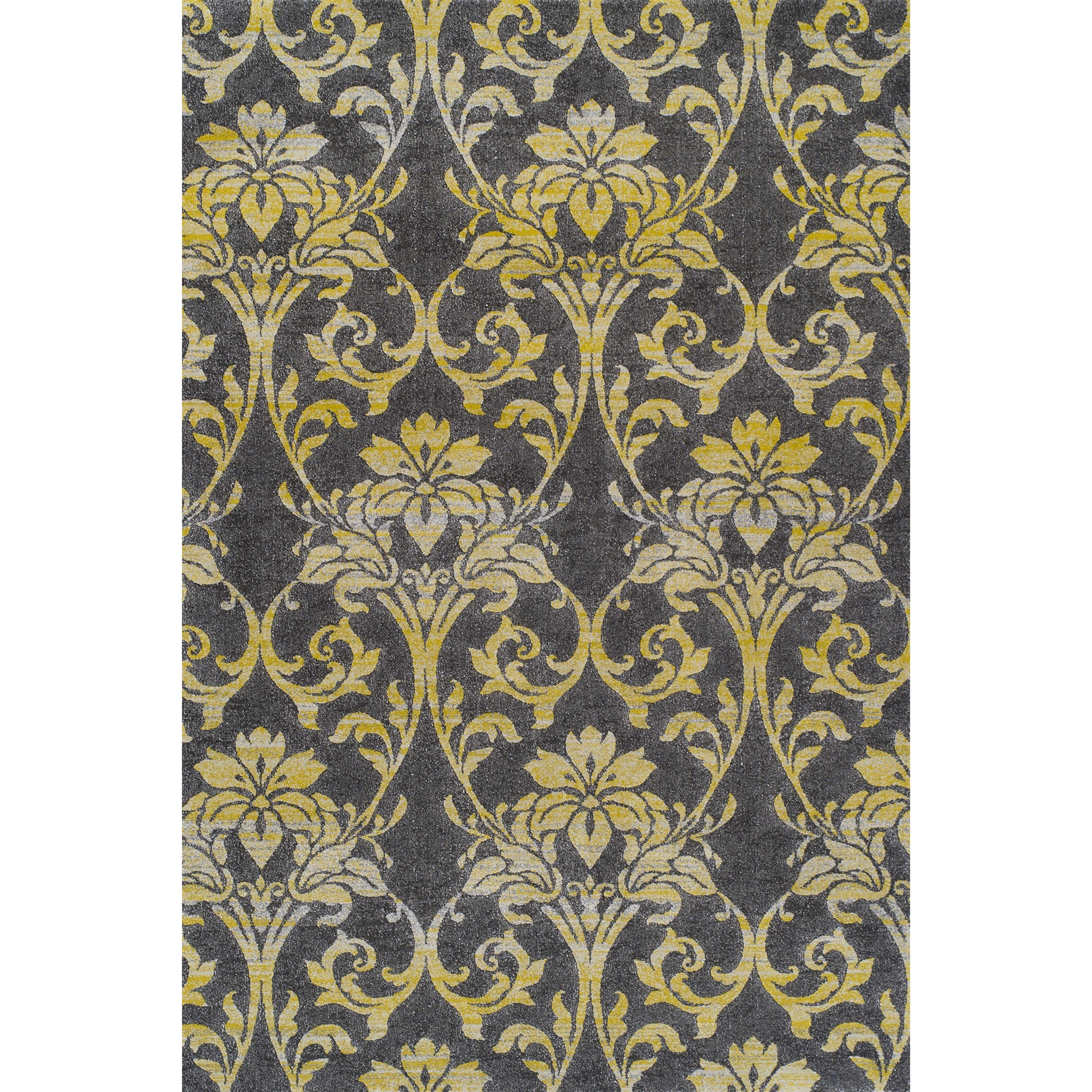 "Dalyn Grand Tour Pewter 5'3""X7'7"" Rug - Item Number: GT501PE5X8"