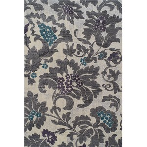 "Dalyn Grand Tour Silver 5'3""X7'7"" Rug"