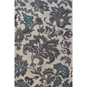 "Dalyn Grand Tour Silver 5'3""X7'7"" Rug - Item Number: GT504SI5X8"