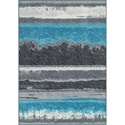 "Dalyn Horizons Graphite 8'2""X10' Area Rug - Item Number: HZ12GR8X10"