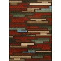 """Dalyn Horizons Canyon 8'2""""X10' Area Rug - Item Number: HZ7CA8X10"""