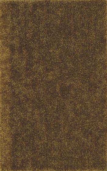 8X10 Gold Shag Rug