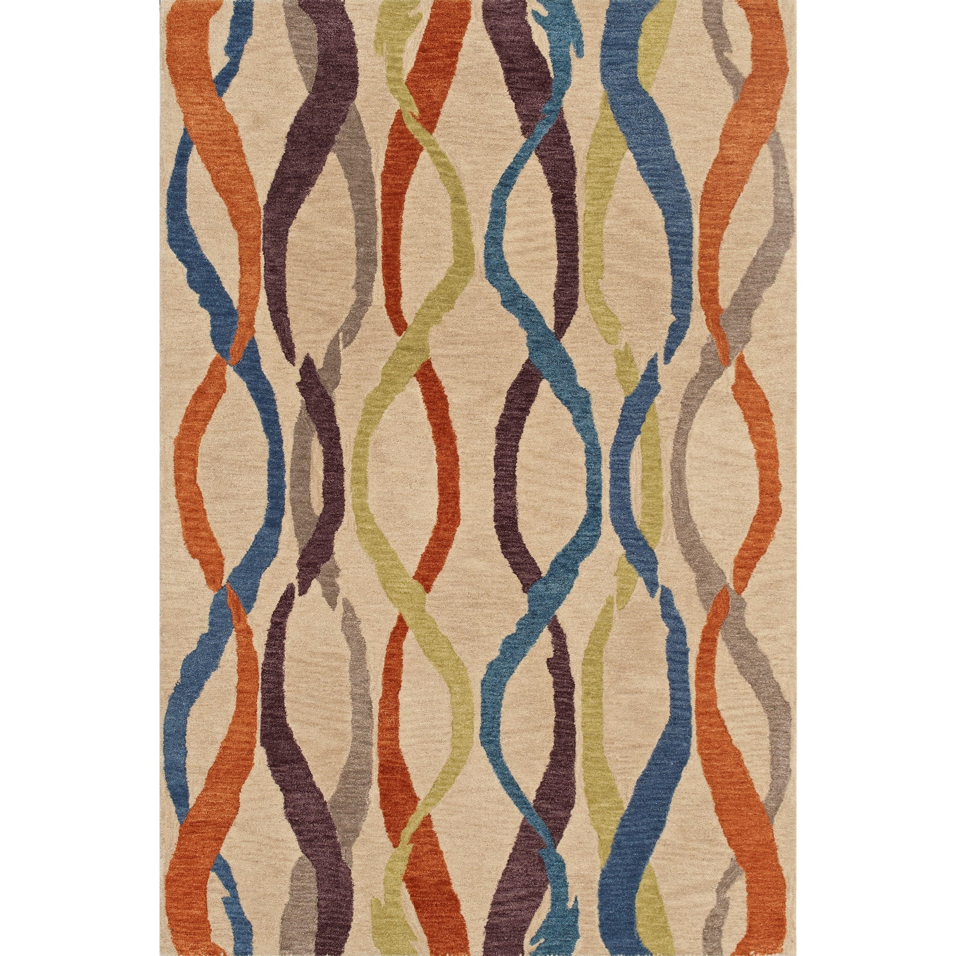 "Dalyn Impulse Linen 3'6""X5'6"" Rug - Item Number: IS1LI4X6"