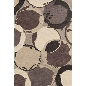 "Dalyn Impulse Grey 3'6""X5'6"" Rug"