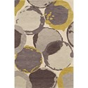 "Dalyn Impulse Ivory 3'6""X5'6"" Rug - Item Number: IS2IV4X6"