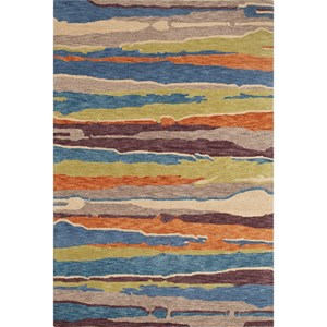 "Dalyn Impulse Multi 5'X7'6"" Rug"