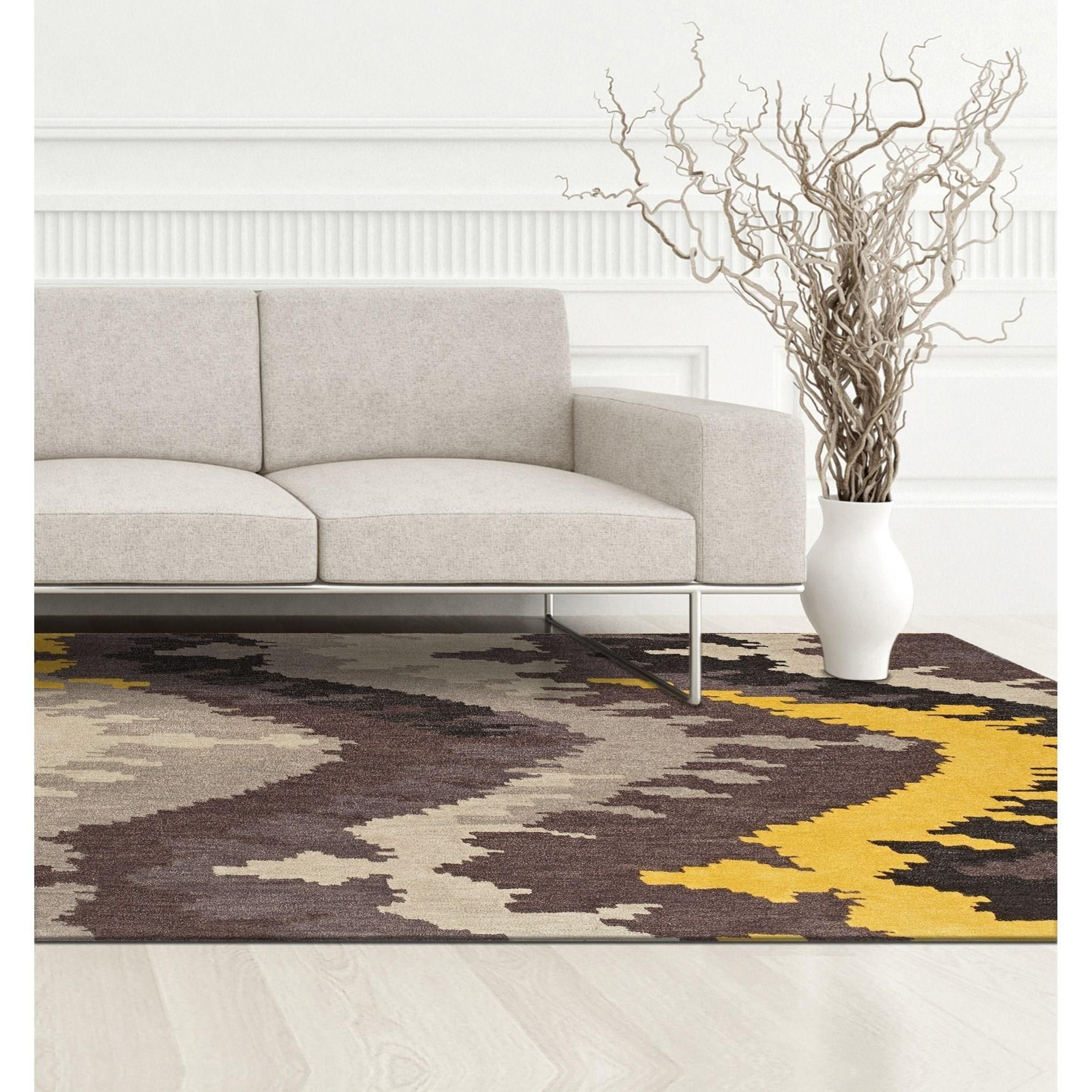 Dalyn Impulse Grey 9u0026#39;X13u0026#39; Rug - Darvin Furniture - Rug