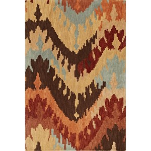"Dalyn Impulse Taupe 3'6""X5'6"" Rug"