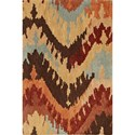 "Dalyn Impulse Taupe 5'X7'6"" Rug - Item Number: IS5TA5X8"
