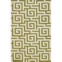 "Dalyn Infinity Citron 3'6""X5'6"" Rug - Item Number: IF1CI4X6"