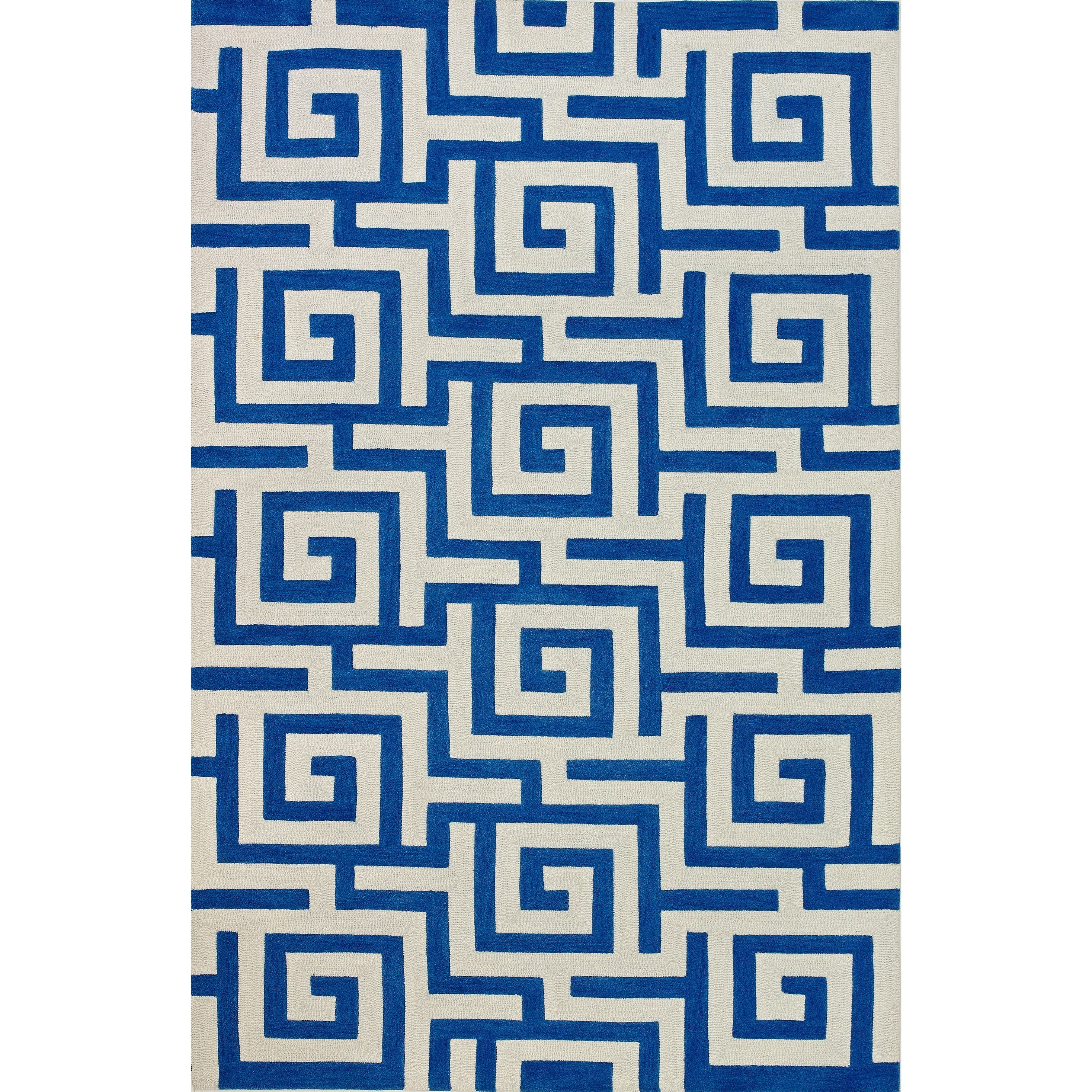 "Dalyn Infinity Cobalt 3'6""X5'6"" Rug - Item Number: IF1CO4X6"