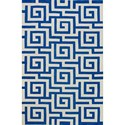 Dalyn Infinity Cobalt 9'X13' Rug - Item Number: IF1CO9X13