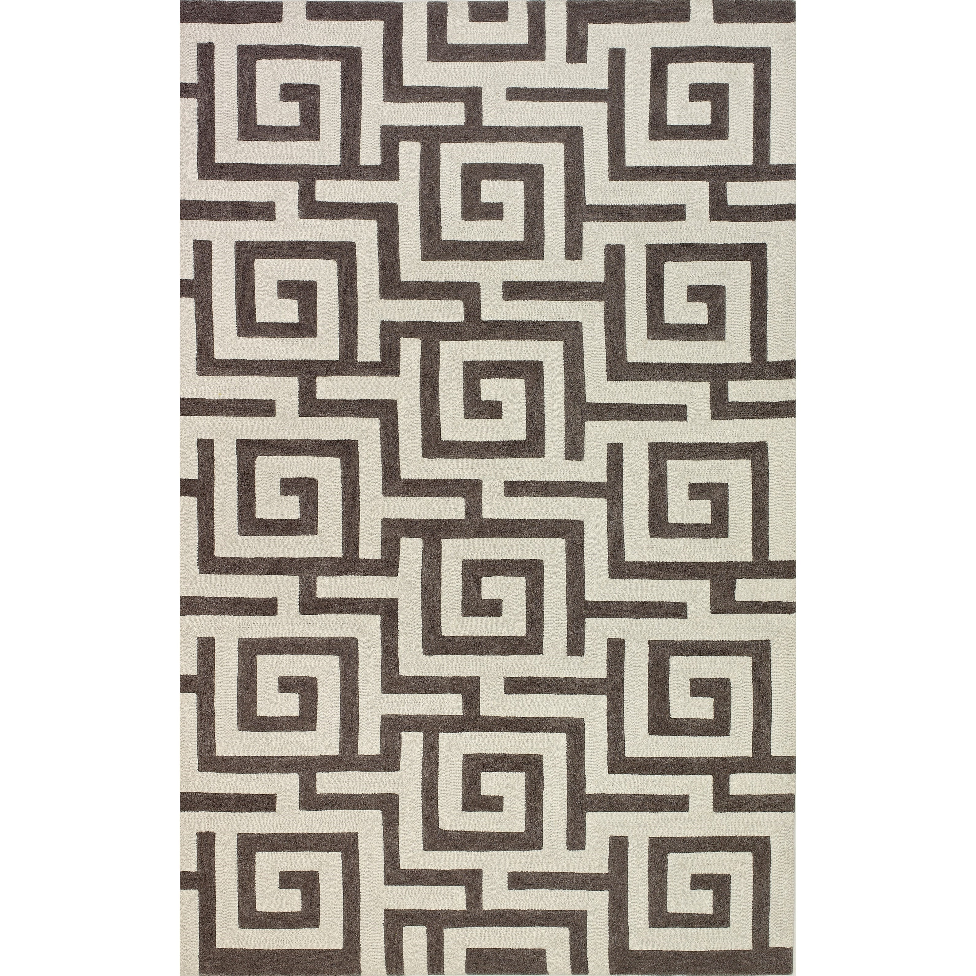 "Dalyn Infinity Pewter 3'6""X5'6"" Rug - Item Number: IF1PE4X6"