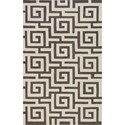 "Dalyn Infinity Pewter 5'X7'6"" Rug - Item Number: IF1PE5X8"