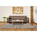 Dalyn Infinity Pewter 5'X7'6