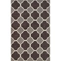 """Dalyn Infinity Charcoal 5'X7'6"""" Rug - Item Number: IF2CC5X8"""