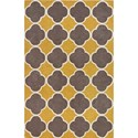 "Dalyn Infinity Dandelion 3'6""X5'6"" Rug - Item Number: IF2DA4X6"