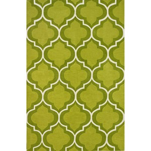 "Dalyn Infinity Lime 3'6""X5'6"" Rug"