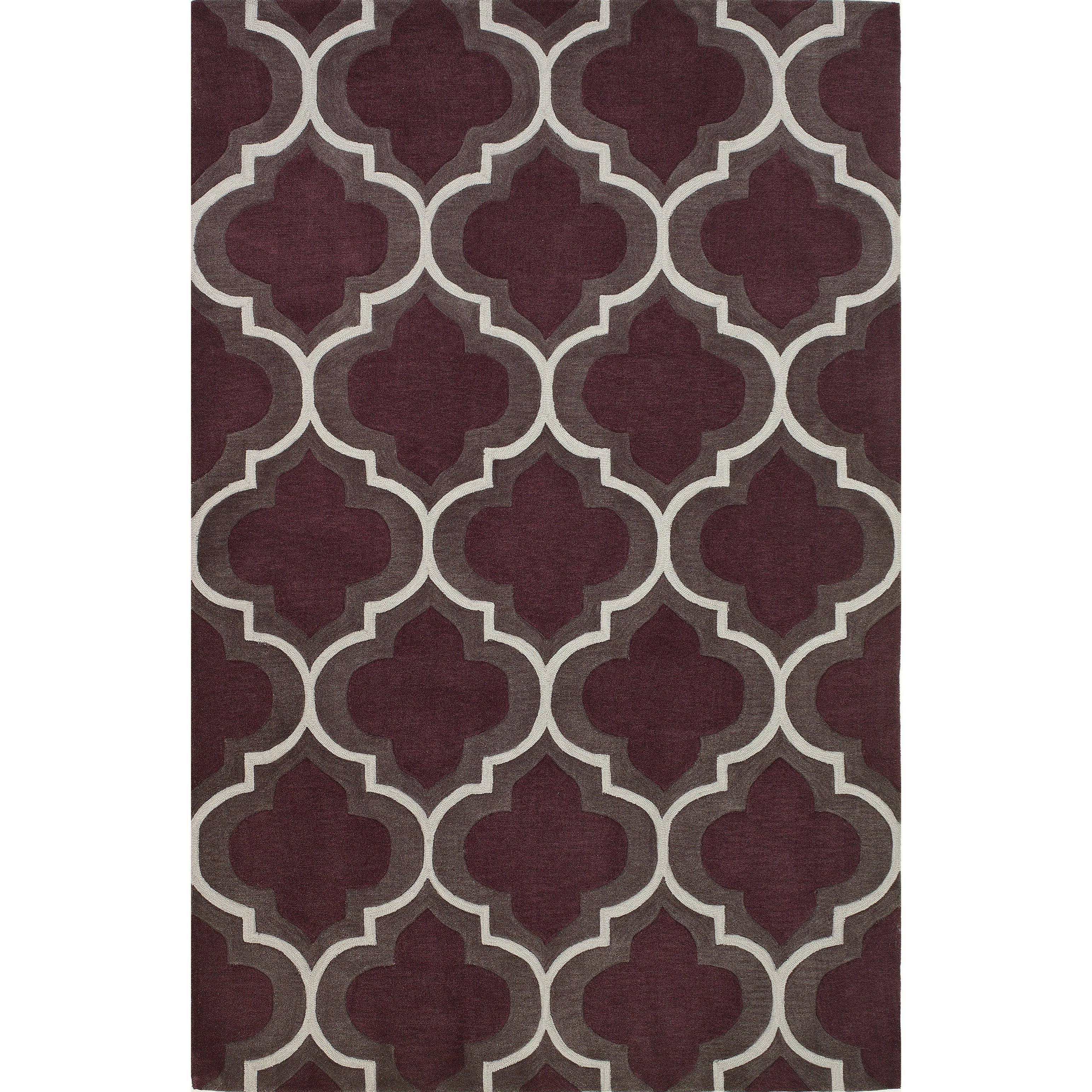 "Dalyn Infinity Plum 3'6""X5'6"" Rug - Item Number: IF3PL4X6"