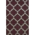 Dalyn Infinity Plum 8'X10' Rug - Item Number: IF3PL8X10