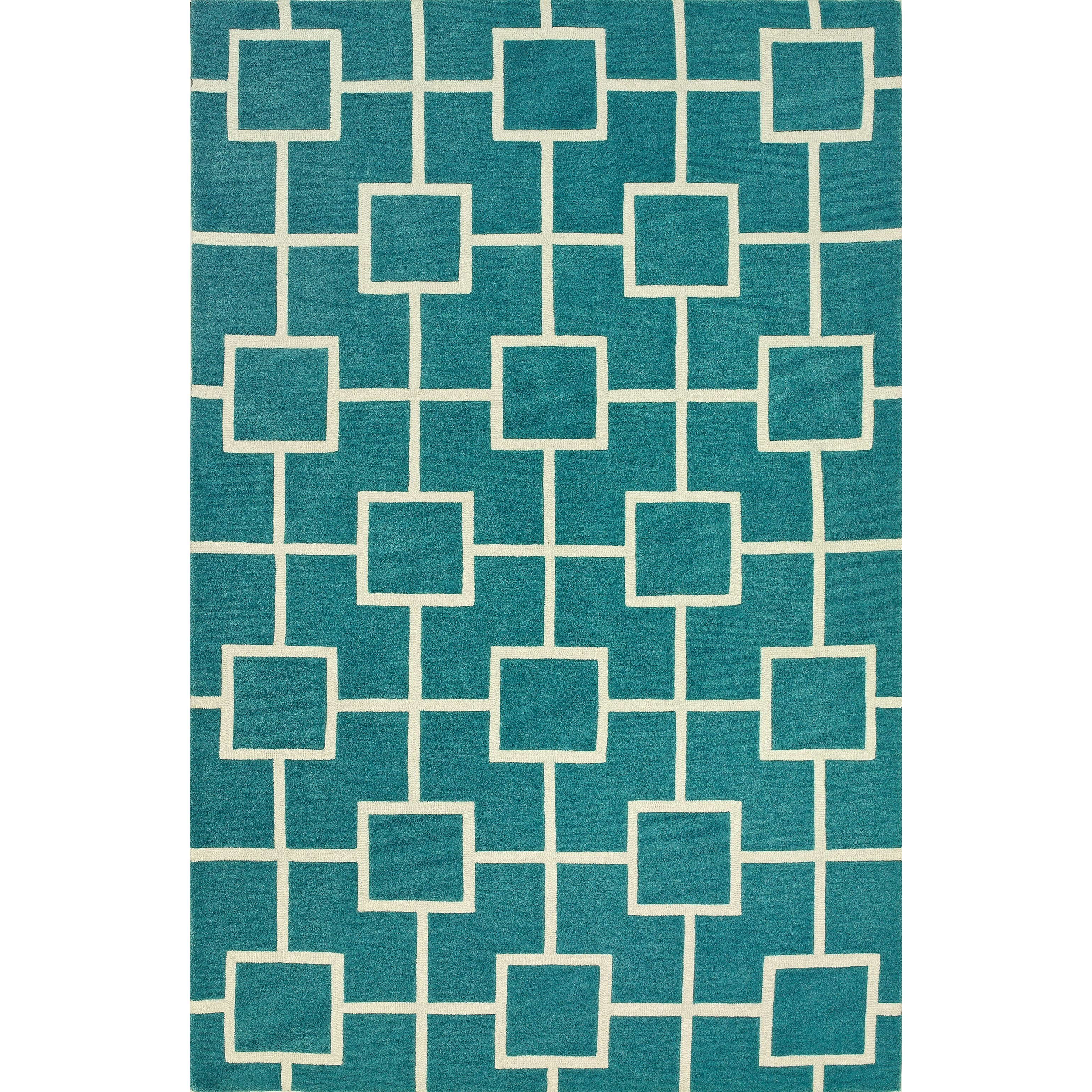 "Dalyn Infinity Peacock 5'X7'6"" Rug - Item Number: IF4PC5X8"