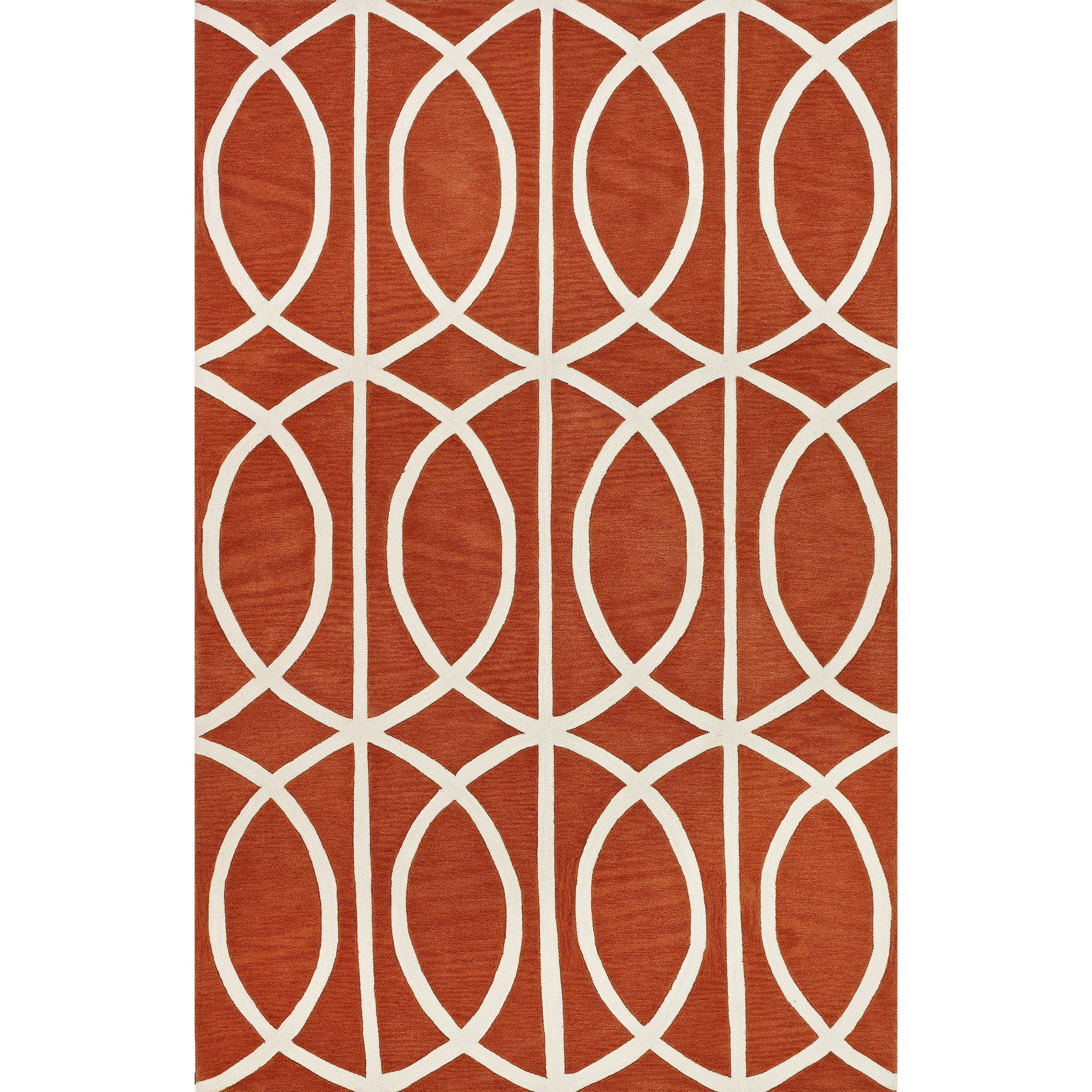 "Dalyn Infinity Pumpkin 5'X7'6"" Rug - Item Number: IF5PK5X8"