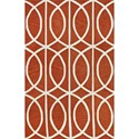 Dalyn Infinity Pumpkin 9'X13' Rug - Item Number: IF5PK9X13