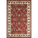 "Dalyn Jewel Red 9'6""X13'6"" Rug - Item Number: JW10RD10X14"