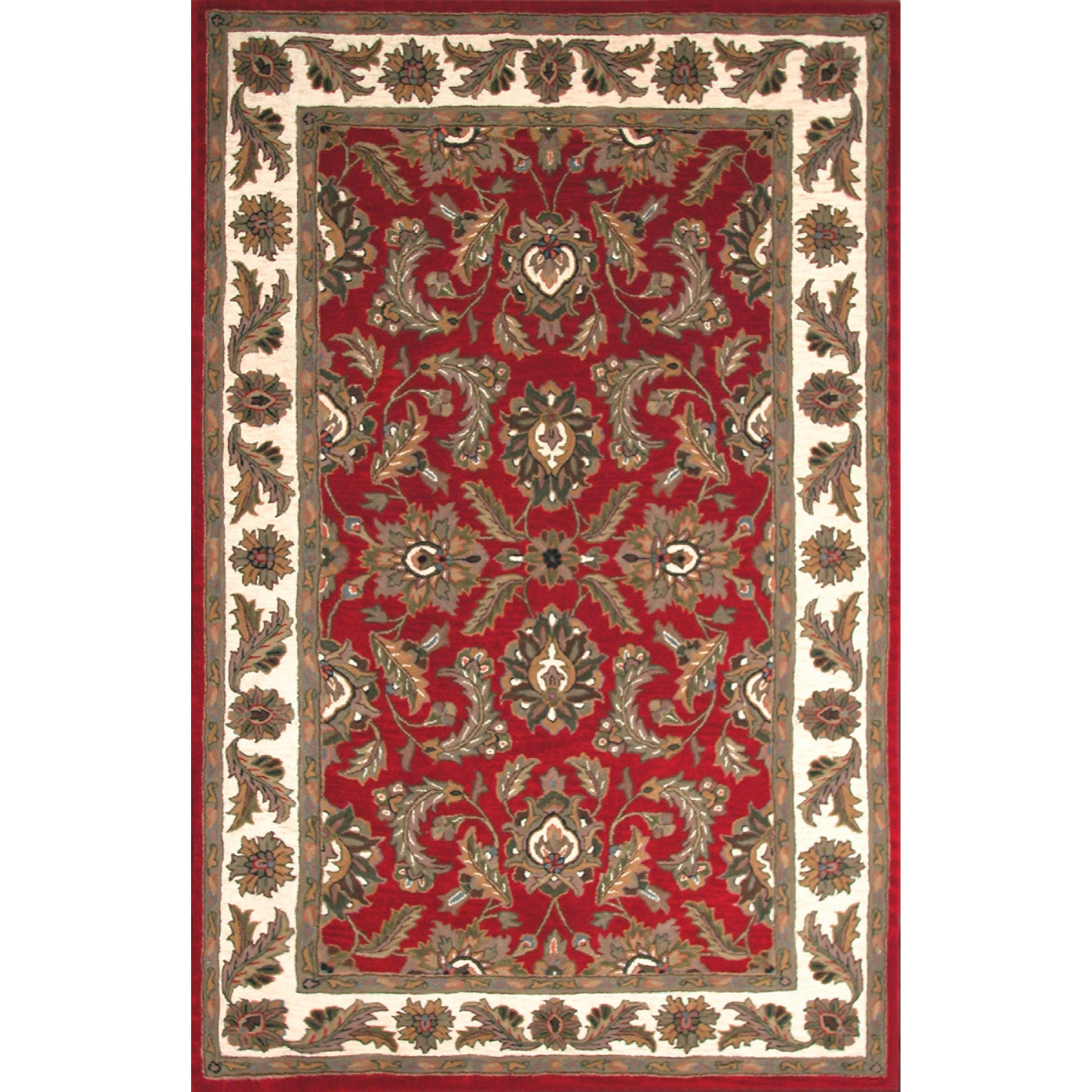 Dalyn Jewel Red 5'X8' Rug - Item Number: JW10RD5X8
